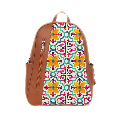 Mixed Backpack Arabic Pattern