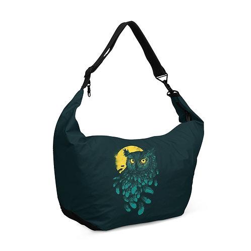 Crescent bag Moon Owl