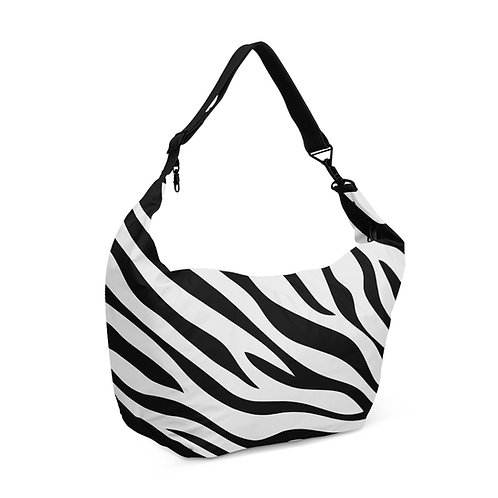 Crescent bag Zebra