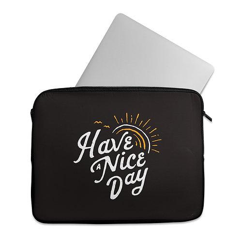 Laptop Sleeve Nice day