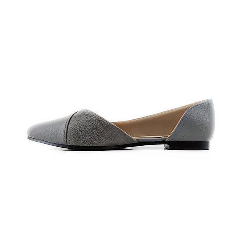 Grey  Slide Sling  Flat Women's Shoe