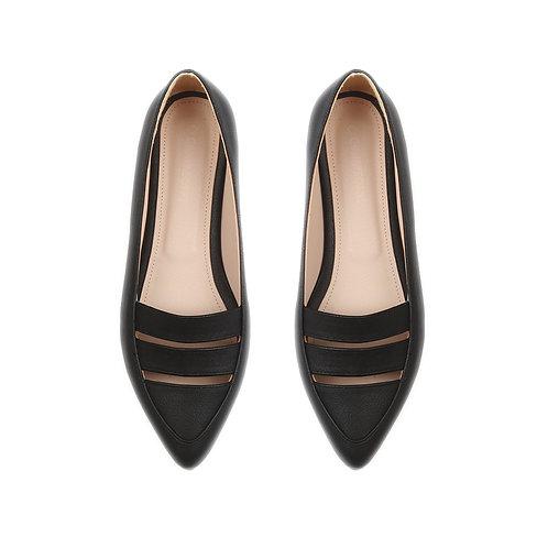 Black Round Toe Shoe