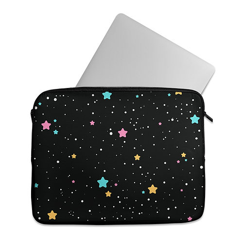 Laptop Sleeve Outer Space Stars