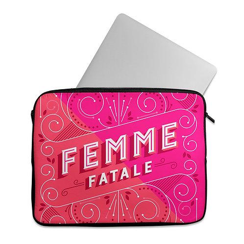 Laptop Sleeve Femme fatale