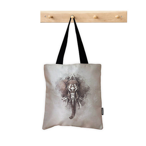 ToteBag Elephant ink