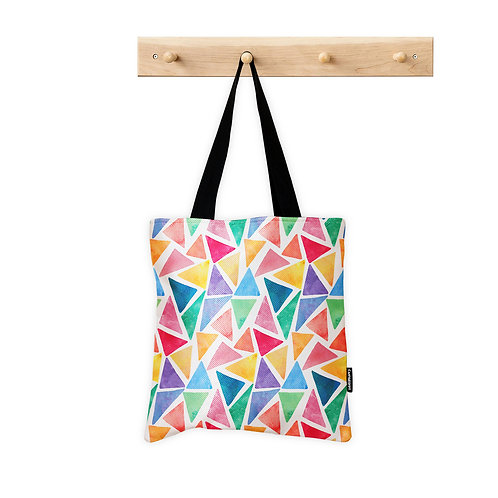 ToteBag Colorful Triangels