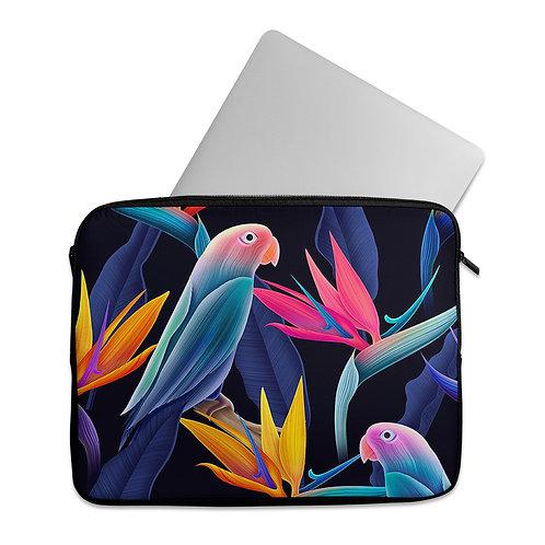 Laptop Sleeve Birds Colors