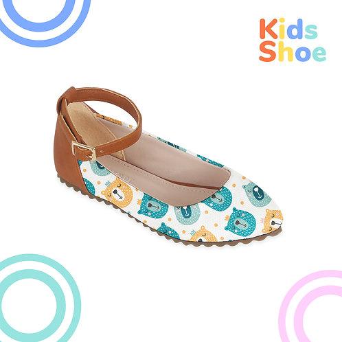 Kids Round Shoes Animals Smile