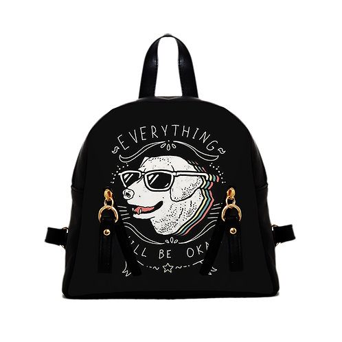 Mini Backpack Everything will be OK