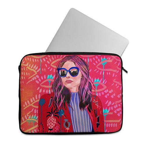 Laptop Sleeve City girl