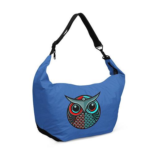 Crescent bag owl Vector