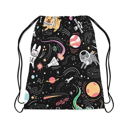 Drawstring Bag Space pets