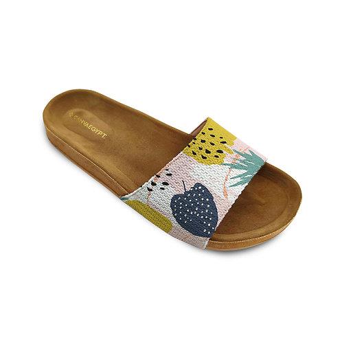 Slide Slipper Leafage
