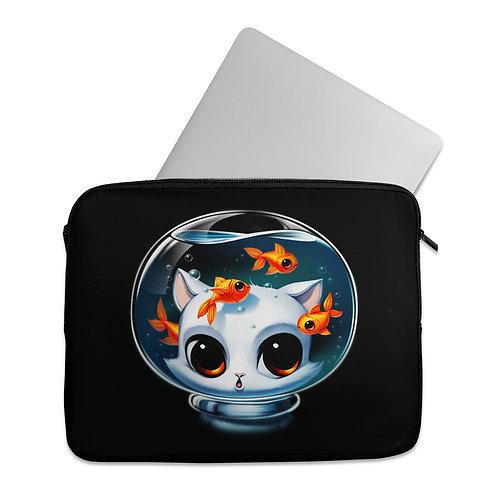 Laptop Sleeve Castronaut Cat