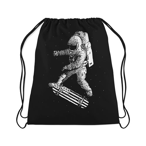 Drawstring Bag Kick flip in space