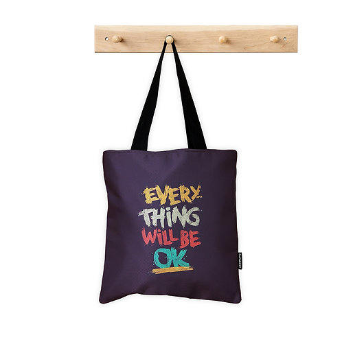 ToteBag Everything will be ok