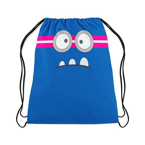 Drawstring Bag Angry Face