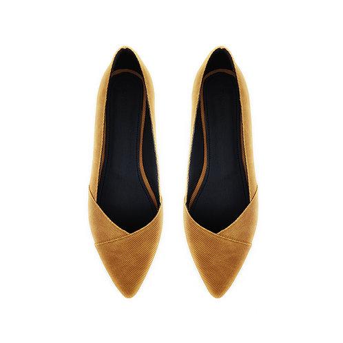 Patchwork havana Flat Women's Shoe