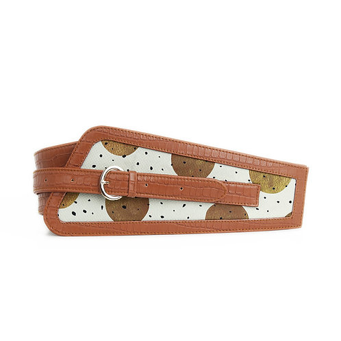 Havana Women's Belt Golden Cookies