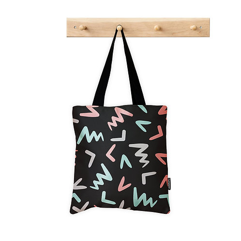 ToteBag Abstract Fin 4