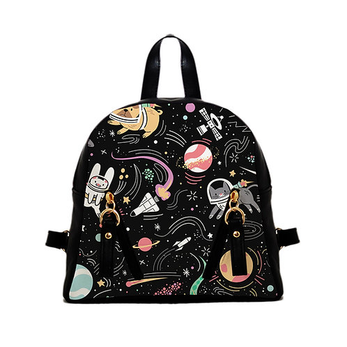 Mini Backpack Space pets