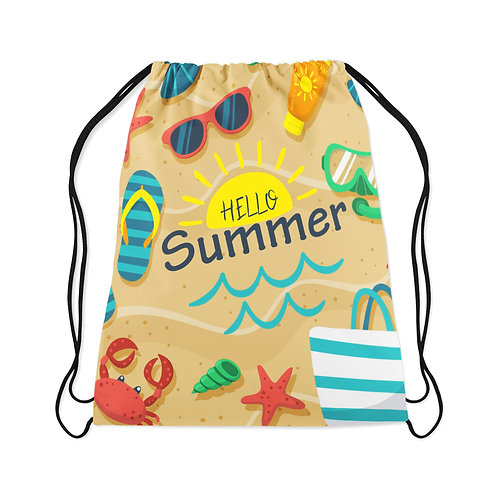 Drawstring Bag Hello Summer