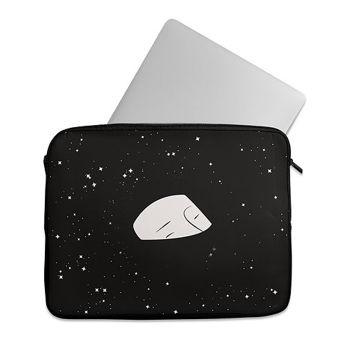 Laptop Sleeve Drowning in space