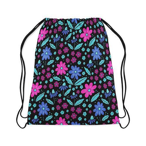 Drawstring Bag Floral