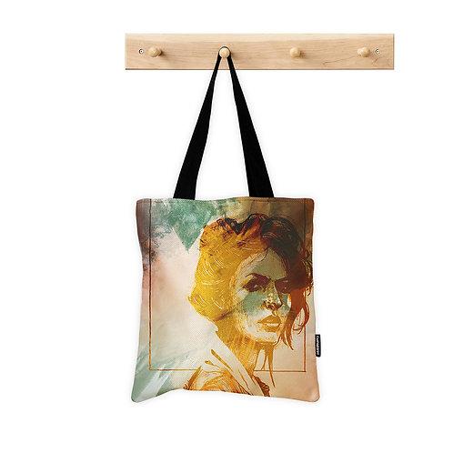 Tote Bag Portrait Art