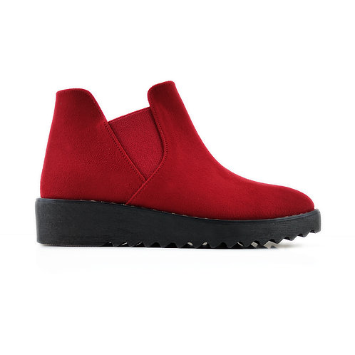 Red Petty Bootie