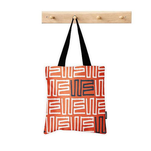 Tote Bag Orange Seamless
