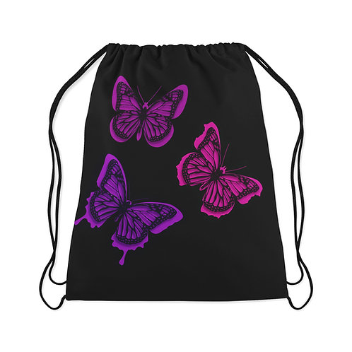 Drawstring Bag Butterfly