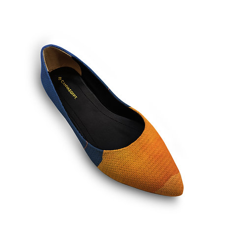 Flat Women's Shoe Sea and Sand