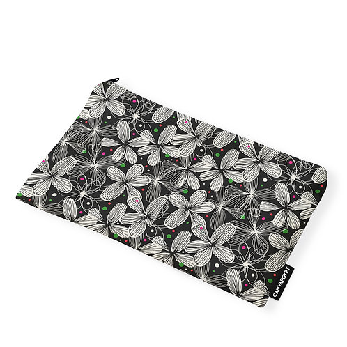 Pouch Floral Spotted