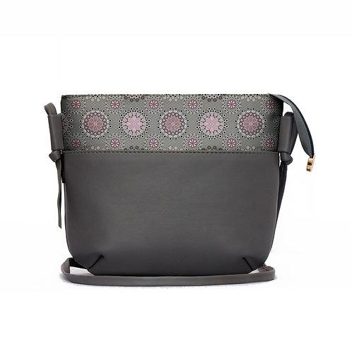 Grey Shoulder Bag