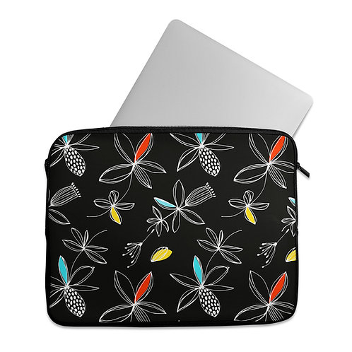 Laptop Sleeve Floral line