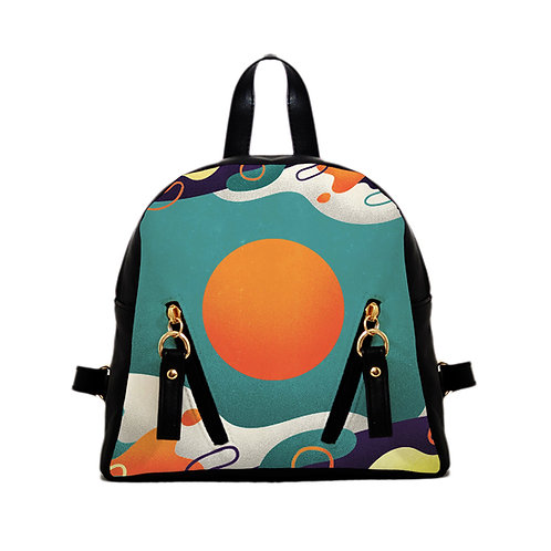 Mini Backpack color wave