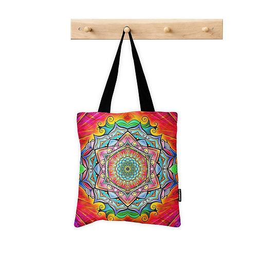 Tote Bag Psychedelic Mandala