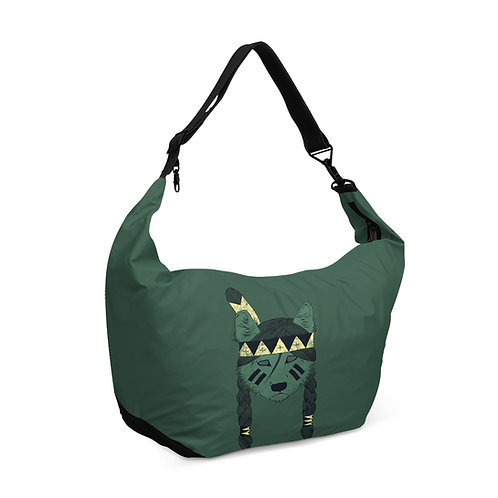 Crescent bag Green Skin