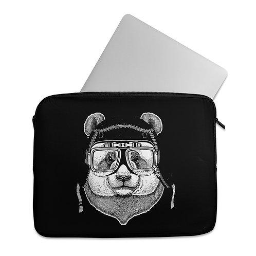 Laptop Sleeve helmet_panda
