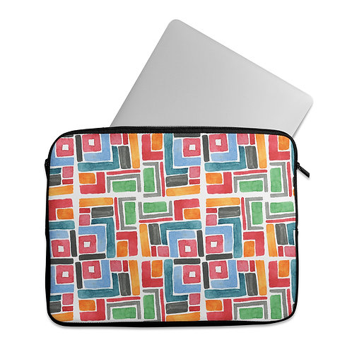 Laptop Sleeve Colorful African