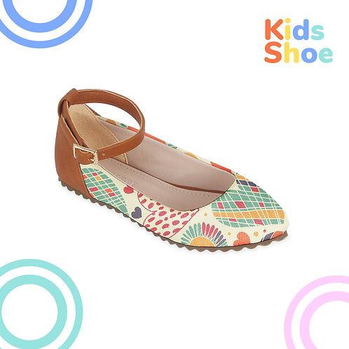 Kids Round Shoes Love Petals