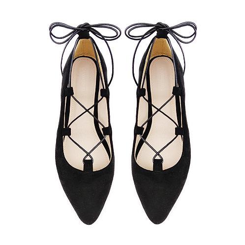 Rob Black Flat Women's Shoe