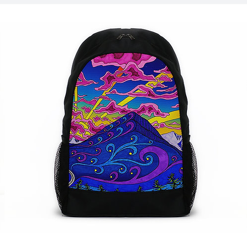 Sports Backpacks Psychedelic Life