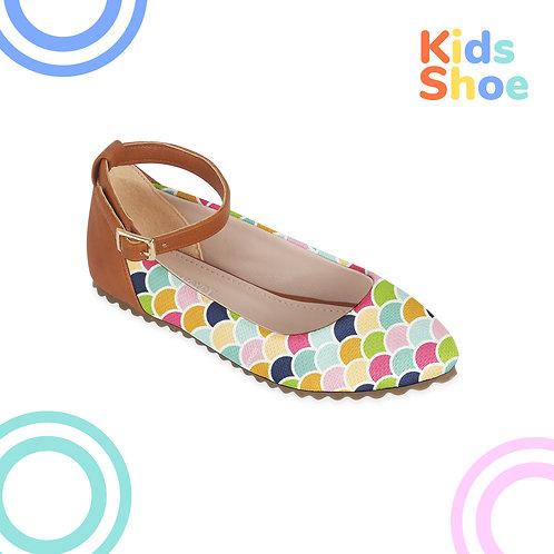 Kids Round Shoes Fish Peel