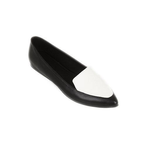 BW Stamp Flat Shoe