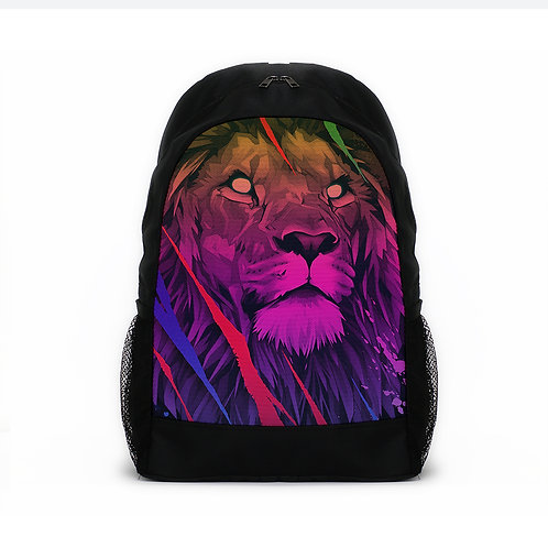 Sports Backpacks Colorful lion