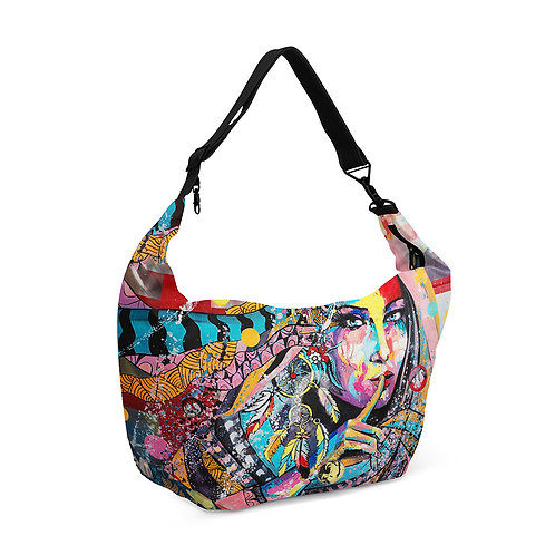 Crescent bag Dream Catcher