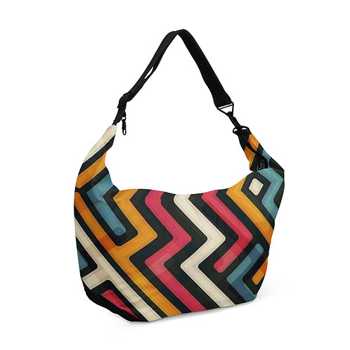 Crescent bag Colorful neon