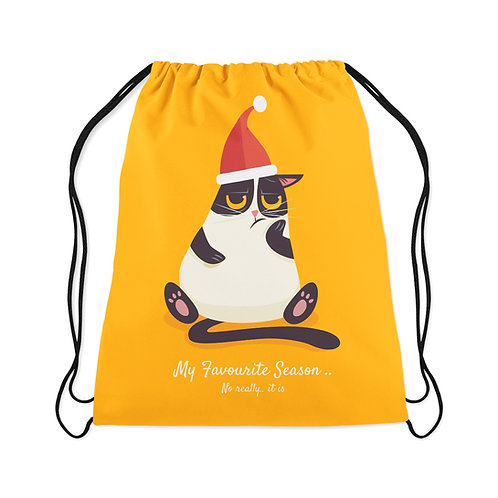 Drawstring Bag The favorite season of the year